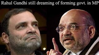 Karyakarta Mahakumbh rally: Amit Shah says Rahul Gandhi still dreaming of forming govt. in MP - NEWSXLIVE