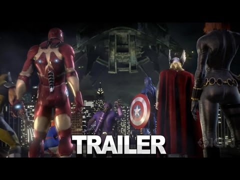 Marvel Avengers: Battle for Earth Trailer - Comic-Con 2012
