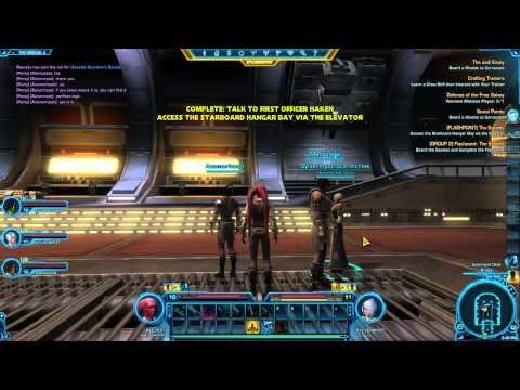 SWTOR: Jedi Knight, Guardian - Walkthrough Part 20 - The Esseles: Part 4 (SWTOR Gameplay)