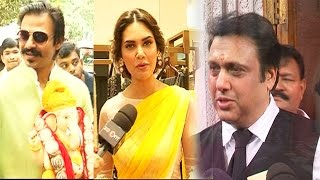 Bollywood Stars shout 'Ganapati Bappa Morya' - EXCLUSIVE