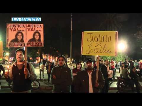 Reclamaron justicia por Cecilia Fernández