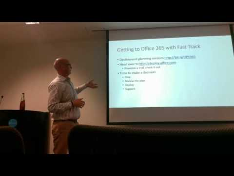 Getting on the FastTrack with Office365