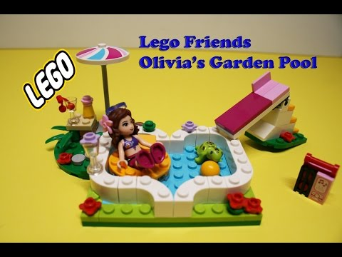 Related video for Lego friends olivia s garden pool 41090