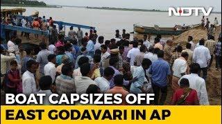5 Missing In Boat Capsize In Andhra Pradesh's East Godavari - NDTV