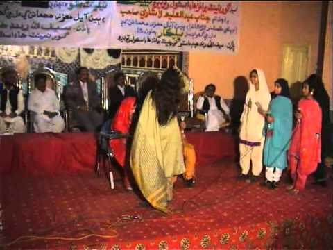 Ratodero G Girls School Tablo Awaz tv GulBahar Shaikh 17 12 2011