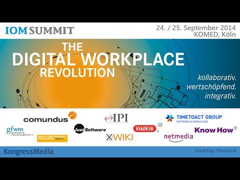 #IOMS14 Keynote: Entwicklungslinien auf dem Weg zum Digital Workplace | David Terrar