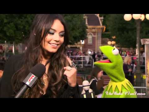 Vanessa Hudgens interview with Kermit the Frog