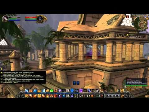 WoW Cataclysm Guide - Uldum Introduction and Opening Quests