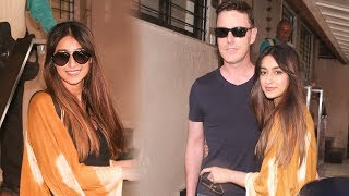 Ileana Spotted Her With Boy Friend Andrew Kneebone - RAJSHRITELUGU