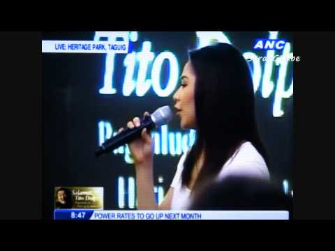 Sarah Geronimo - The Lord's Prayer - Salamat Tito Dolphy Tribute (July 14, 2012)