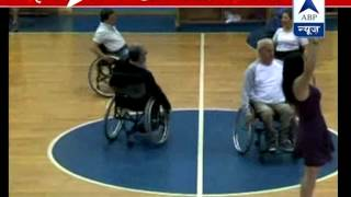 Israel group performs dance of wheelchair - ABPNEWSTV