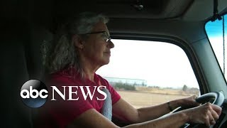 20/20 A Hidden America Part 3:  Female truckers navigate male-dominated industry - ABCNEWS