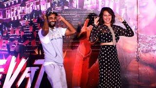 Watch Remo, Sonakshi's dance on 'Radha Nachegi' song - IANSINDIA