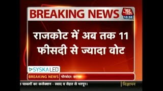 Gujarat 1st Phase Voting LIVE: Around 11% Voters Turnout In Initial Two Hours - AAJTAKTV