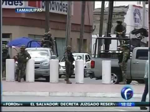 Marina asume control total en 'Zona Frontera' de Tamaulipas.