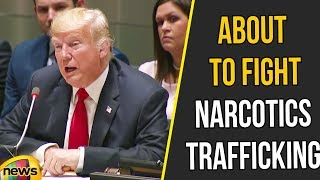 Trump About to Fight Narcotics Trafficking and Addiction Across the Globe | Trump speech |Mango News - MANGONEWS