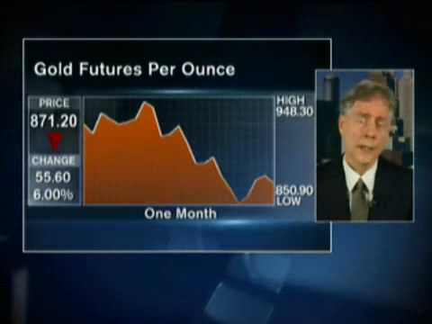 Deflation NOT Inflation Metals & Oil Prechter on Bloomberg May 2008