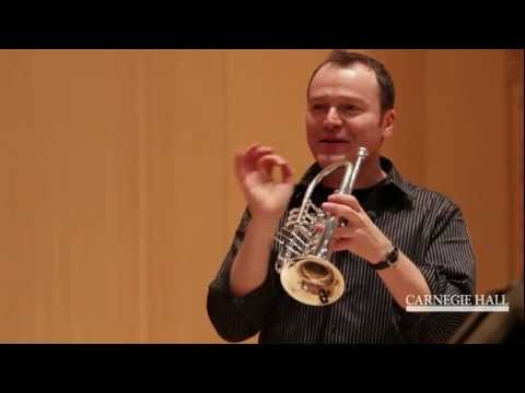 Carnegie Hall Trumpet Master Class: Respighi's The Pines of Rome