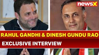 Rahul Gandhi and Dinesh Gundu Rao Speaks Over Lok Sabha Elections 2019; NewsX Campaign Trail - NEWSXLIVE