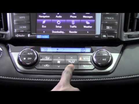 2014 Toyota RAV4 Automatic Climate Control How To By Brookdale Toyota