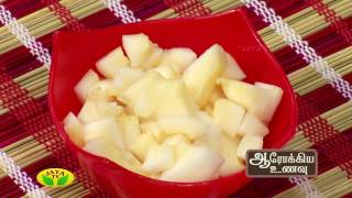 Aarokiya Unavu 13-06-2017 – Jaya TV cookery Show Preparation Of Dosaikai Gravy & Dosaikai Kuruma