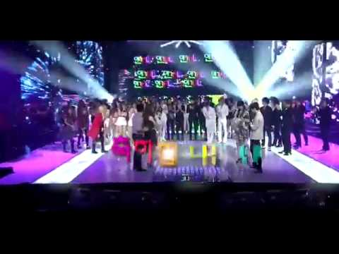 110814 2NE1 Ugly (Live HD) + Winner