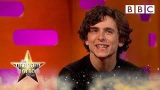Timothee Chalamet's rap battle challenge - BBC - BBC