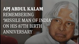 APJ Abdul Kalam: Remembering 'Missile Man of India' on his 87th birth anniversary - TIMESOFINDIACHANNEL