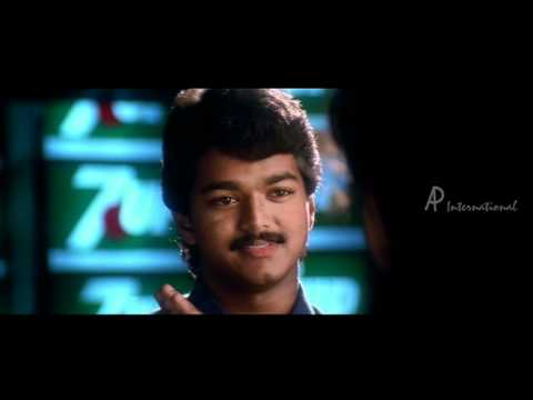 Naerukku Naer   Tamil Movie   Scenes   Clips   Comedy   Songs   Vijay-Kausalya kissing contest