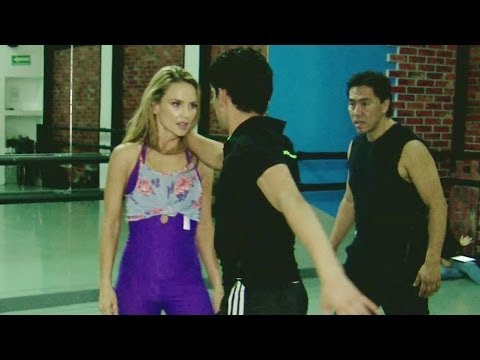 Ximena Córdoba aceptó el reto de Bailando por un Sueño