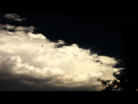 Nice cumulus forming in dark sky timelapse Canon SX10 V11854