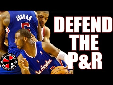 3 Ways To Guard The Pick and Roll | How To Play Defense | Pro Training Basketball