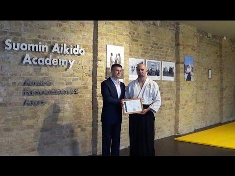 Suomin Aikido Academy Black Belt