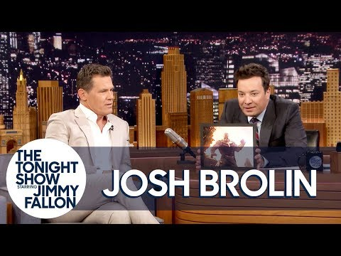 Avengers' Josh Brolin Tries Out Different Voices for Thanos - يوتيوبات