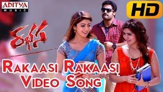 Rakaasi Rakaasi Full Video Song ||  Rabhasa Video Songs || Jr Ntr, Samantha, Pranitha - ADITYAMUSIC