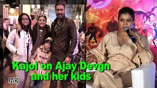 Kajol on Ajay Devgn and her kids | Incredibles 2 - IANSINDIA