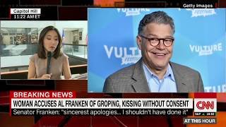 Woman alleges Franken groped her without consent - CNN