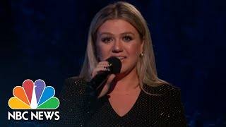 Kelly Clarkson Fights Back Tears As She Mourns Santa Fe Shooting Victims | NBC News - NBCNEWS