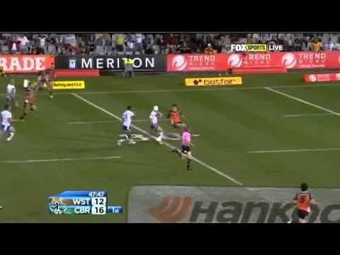 NRL 2012 Round 4 Highlights: Wests Tigers V Raiders