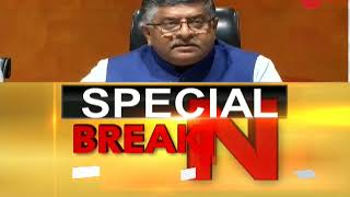 Why is Congress dividing the nation for political gains?: Ravi Shankar Prasad - ZEENEWS