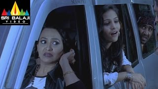 Thriller Hyderabadi Movie Aziz Friends Escaping Scene || R.K, Aziz, Adnan Sajid - SRIBALAJIMOVIES