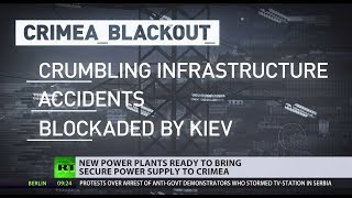 Russia's two new power plants will fix the Crimea blackout - RUSSIATODAY
