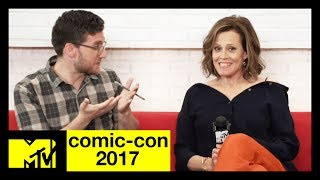'The Defenders' Cast (Sigourney Weaver, Mike Colter, & More) On Their New Show | Comic-Con 2017 - MTV