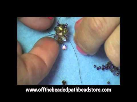 Montee Embellished Beaded Bead / Earrings