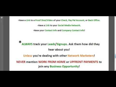 Network Marketing Secrets - The Science of Network Marketing