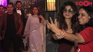 Salman Khan attends Sonakshi's manager's wedding | Shamita gets TROLLED for behaving rudely with fan - ZOOMDEKHO