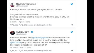 Kanhaiya Kumar Responds To Fake Tweets - ABPNEWSTV
