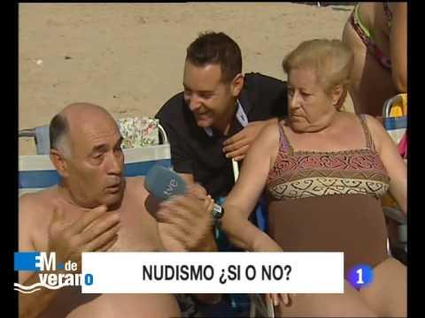 Nudismo Sí o No - Víctor Álvarez - Esta Mañana de verano - 06/08/2009 - La 1 TVE