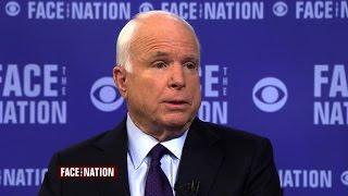 فيديو| جون ماكين يدعو أوباما إلى انتهاج استراتيجية عدوانية ضد داعش
