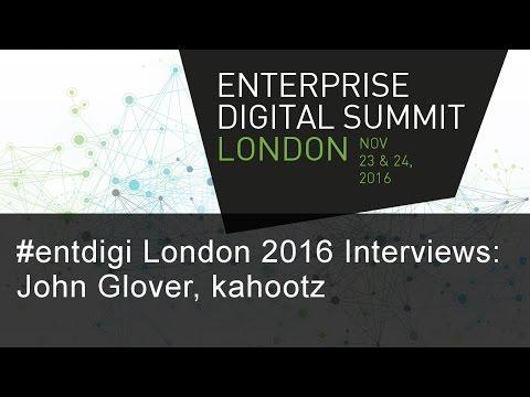 #entdigi16 Interviews: John Glover, kahootz